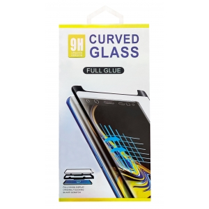 LCD apsauginis stikliukas 9D Curved Full Glue Huawei P40 Lite juodas