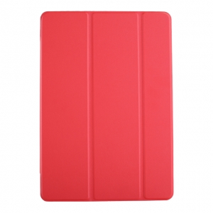 Dėklas Smart Leather Samsung P610 / P615 Tab S6 Lite 10.4 raudonas