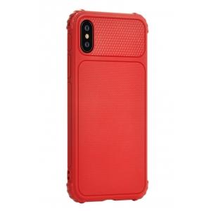 Dėklas Devia Shark 1 Apple iPhone X / XS raudonas