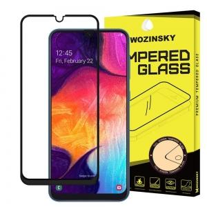 LCD apsauginis stikliukas Wozinsky 5D pritaikytas dėklui Huawei P20 Lite juodas