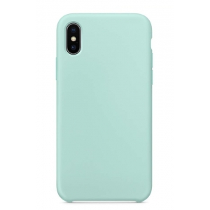 Dėklas Liquid Silicone 1.5mm Apple iPhone 7 / 8 / SE2 mėtinis