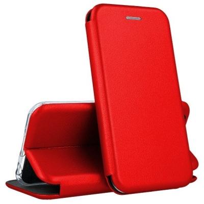 Dėklas Book Elegance Huawei P40 Lite raudonas