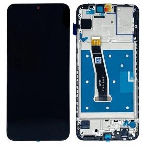 Ekranas Huawei P Smart 2019 su lietimui jautriu stikliuku ir rėmeliu juodas ORG