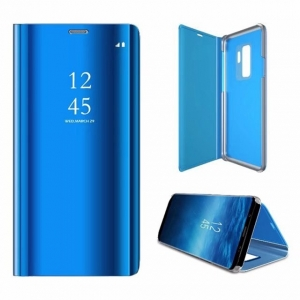 Dėklas Sview Huawei P40 mėlynas
