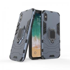 Dėklas Panther Samsung Note 20 Ultra tamsiai mėlynas