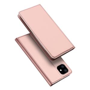 Dėklas Dux Ducis Skin Pro Huawei P40 Lite E / Y7 P rožinis-auksinis