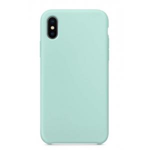Dėklas Liquid Silicone 1.5mm Apple iPhone 12 / 12 Pro mėtinis