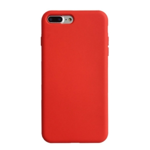 Dėklas Liquid Silicone 1.5mm Apple iPhone 12 / 12 Pro raudonas