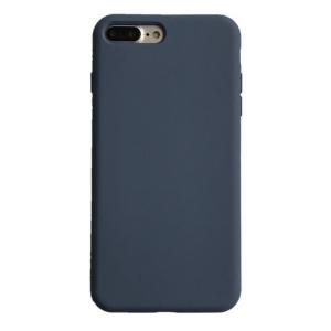 Dėklas Liquid Silicone 1.5mm Apple iPhone 12 Pro Max tamsiai mėlynas