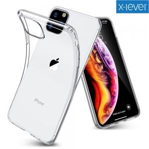 Dėklas X-Level Antislip / O2 Apple iPhone 12 / 12 Pro skaidrus
