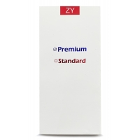 Ekranas Apple iPhone 6 su lietimui jautriu stikliuku juodas ZY Premium