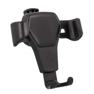 Automobilinis Universalus telefono laikiklis Setty GUS-01 tvirtinamas į ventiliacijos groteles, juodas