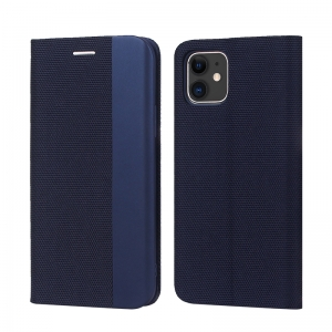 Dėklas Smart Senso Huawei P30 LITE / Nova 4E tamsiai mėlynas