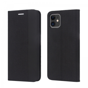Dėklas Smart Senso Samsung A41 A415 juodas