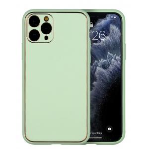 Dėklas Gold Line Apple iPhone XR šviesiai žalias