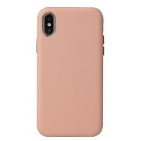 Dėklas Leather Case Apple iPhone XR rožinis
