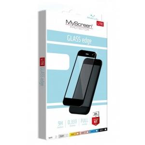 LCD apsauginis stikliukas MyScreen Lite Edge Full Glue Apple iPhone 12 / 12 Pro juodas
