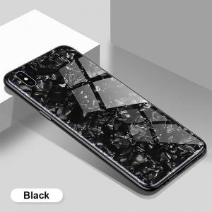 Dėklas Marble Samsung A31 juodas