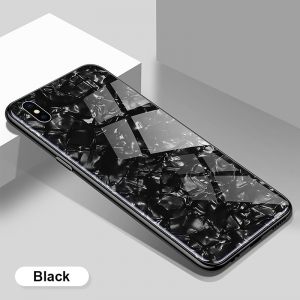 Dėklas Marble Samsung A315 A31 juodas