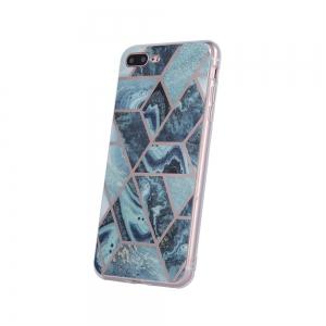Dėklas Geometric Marmur Apple iPhone 11 Pro tamsiai mėlynas