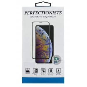 LCD apsauginis stikliukas 5D Perfectionists Xiaomi Redmi Note 9S lenktas juodas