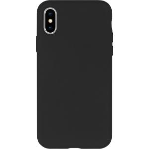 Dėklas Mercury Silicone Case Apple iPhone 12 / 12 Pro juodas