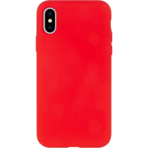 Dėklas Mercury Silicone Case Apple iPhone 12 / 12 Pro raudonas