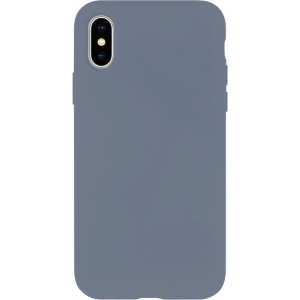 Dėklas Mercury Silicone Case Apple iPhone 12 / 12 Pro levandos pilka