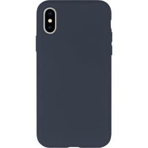 Dėklas Mercury Silicone Case Apple iPhone 12 / 12 Pro tamsiai mėlynas