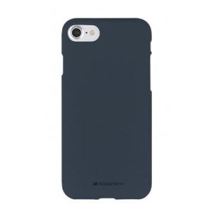 Dėklas Mercury Soft Jelly Case Apple iPhone 12 / 12 Pro tamsiai mėlynas