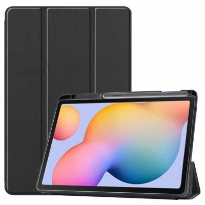 Dėklas Smart Leather Samsung T500 / T505 Tab A7 10.4 2020 juodas