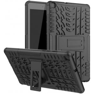 Dėklas Shock-Absorption Samsung T510 / T515 Tab A 10.1 2019 juodas