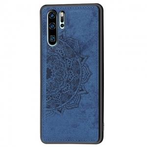 Dėklas Mandala Huawei P Smart 2021 tamsiai mėlynas