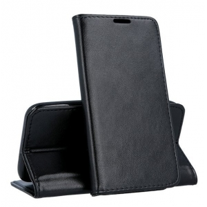 Dėklas Smart Magnetic Xiaomi Mi Note10 Lite juodas
