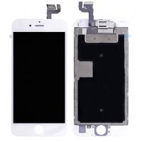Ekranas Apple iPhone 6S su lietimui jautriu stikliuku baltas (Refurbished) originalus