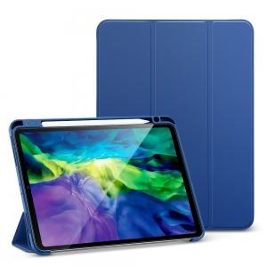 Dėklas ESR Rebound Pencil Apple iPad Pro 11 2018 / 2020 tamsiai mėlynas