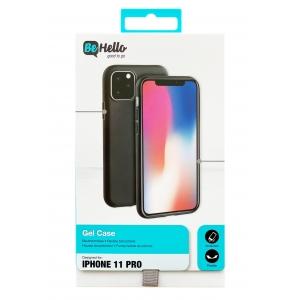 Dėklas BeHello Gel Apple iPhone 12 / 12 Pro juodas
