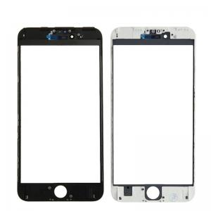 LCD stikliukas Apple iPhone 6S Plus su rėmeliu ir OCA juodas V3