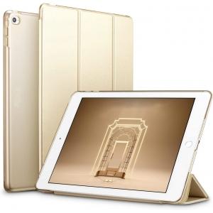Dėklas Smart Leather Samsung P610 / P615 Tab S6 Lite 10.4 auksinis