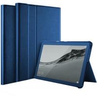 Dėklas Folio Cover Lenovo Tab M10 X505 / X605 10.1 tamsiai mėlynas