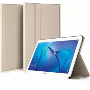 Dėklas Folio Cover Huawei MediaPad T5 10.0 auksinis