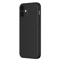 Dėklas Baseus Liquid Silica Gel Apple iPhone 12 / 12 PRO juodas WIAPIPH61N-YT01