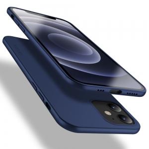 Dėklas X-Level Guardian Apple iPhone 12 / 12 Pro tamsiai mėlynas