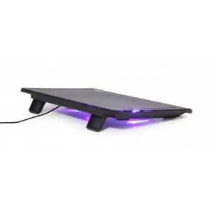 Nešiojamo kompiuterio stovas-aušintuvas GEMBIRD NBS-2F15-01