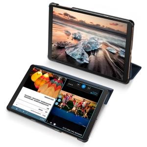 Dėklas Dux Ducis Domo Samsung T870 / T875 Tab S7 10.4 tamsiai mėlynas