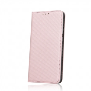 Dėklas Smart Magnet Samsung A125 A12 rožinis-auksinis
