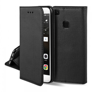 Dėklas Smart Magnet Xiaomi Redmi Note 9T Pro 5G juodas