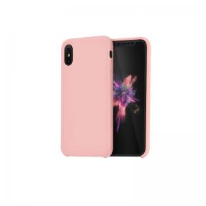 Dėklas Hoco Pure Series Apple iPhone 12 / 12 Pro rožinis