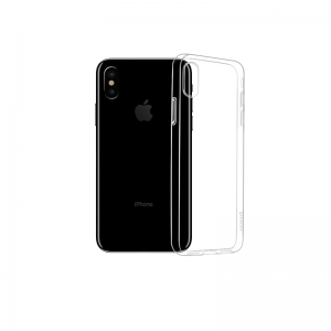 Dėklas Hoco Light Series Apple iPhone 12 / 12 Pro skaidrus