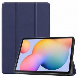Dėklas Smart Leather Apple iPad Air 10.9 2020 tamsiai mėlynas
